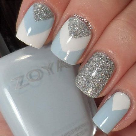 girlshue 15 simple winter nail art designs ideas