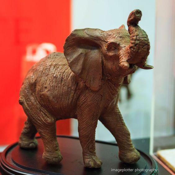 #rchocolateldn chocolate elephant #imageplotterphotography