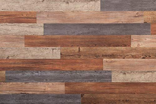 Nance Industries 16632 E Z Peel And Press Wall Planks 4 X36 Assorted Wood Colors 20 Amazon C Shiplap Wall Diy Vinyl Wall Panels Salvaged Wood Furniture