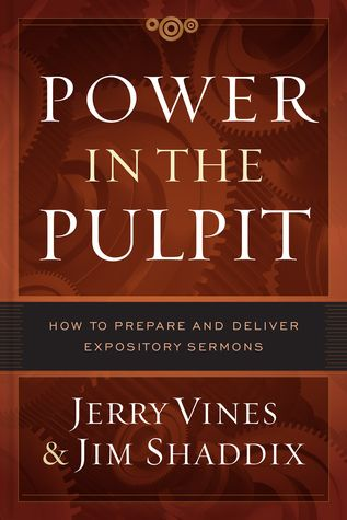 Pdf Download Power In The Pulpit How To Prepare And Deliver