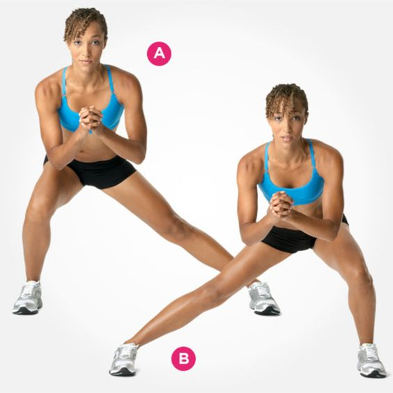 LOW SIDE-TO-SIDE LUNGE