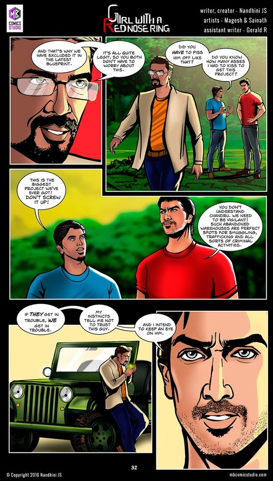 Page 32 - Nandhini's 'Girl with a Red Nose Ring' Comics. (read free comics online, romantic books by indian authors, romantic books for teenegers, horror books in english, best place to download comic books online, comic books for children, comics for children, comics for kids, comic books for kids, best site to download comics, comic books download pdf, graphic novels for adults, graphic novels for children, graphic novels and comics, indian comic books, comic books india, webcomics