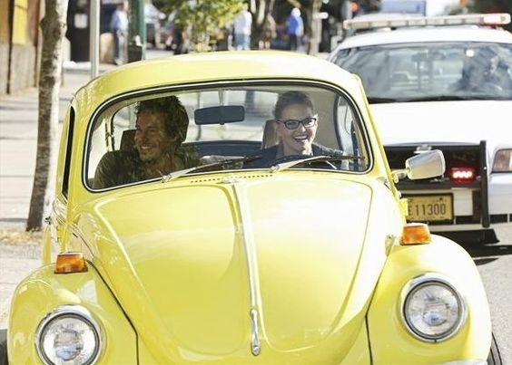 Once Upon A Time (TV Show)  Yellow Beetle driven by Emma Swan (Jennifer Morrison)
