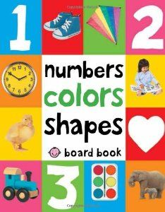 Amazon.com: Numbers Colors Shapes (First 100) (9780312510817): Roger Priddy: Books