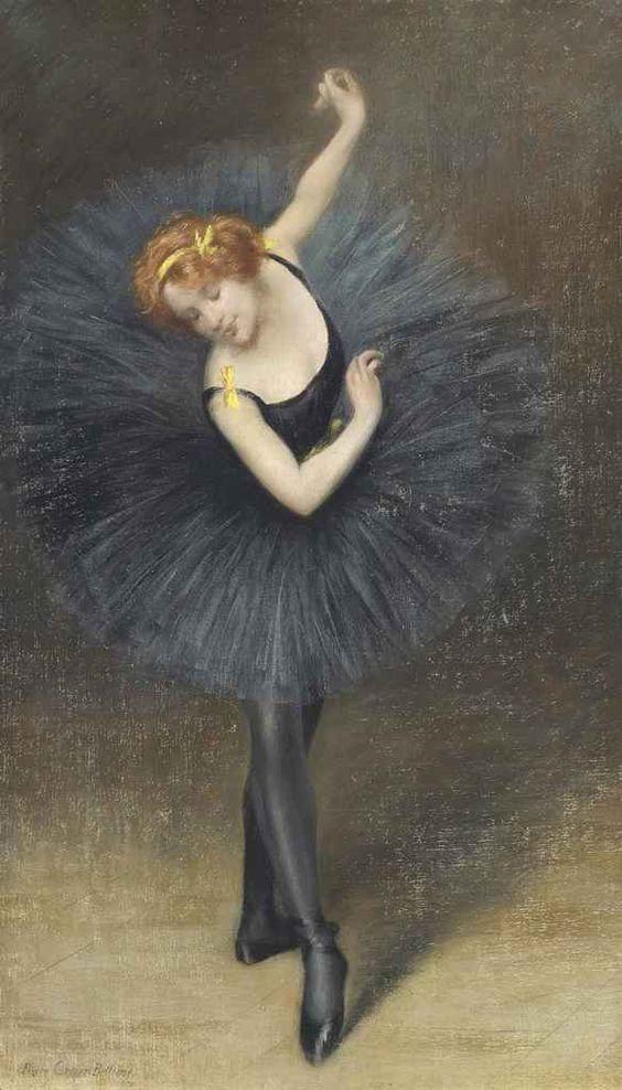 Ballerine 1919 - Pierre Carrier-Belleuse (1851-1932):