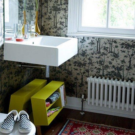 Moderne Badezimmer eklektische Wohnideen Badezimmer Living Ideas Bathroom