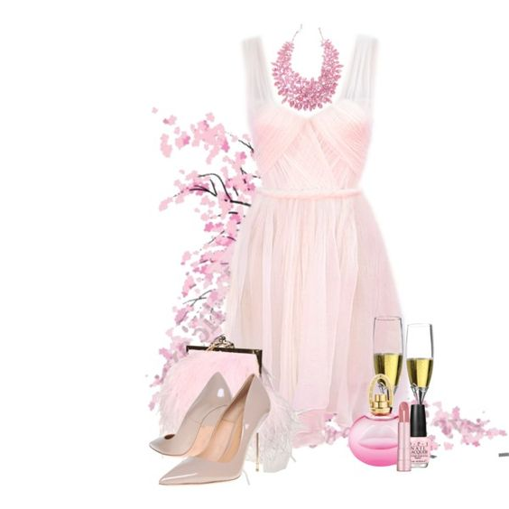 """""""In The Pink"""" by ritadolce on Polyvore"""