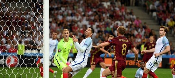 Photos: England draws with Russia 1-1 tonight at #Euro2016