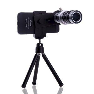 The magnetic lenses clip onto an iPhone or Android.It got lens holder that allows you to rotate the lens 360 degrees.Great gift for Photography fan.