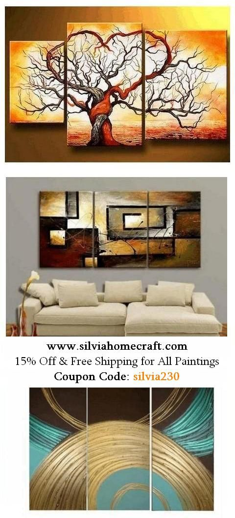 Hand Painted Group Paintings For Home Decoration 15 Off Free Shipping For All Paintings Coupon Code 3 Piece Canvas Art Canvas Art For Sale Large Wall Art
