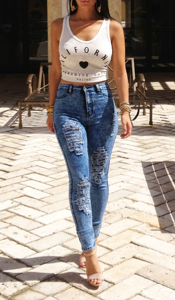 Tyler Ripped Jeans | Necessaryclothing.com | Pinterest