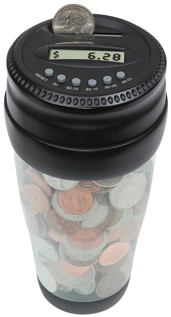Pinterest the world s catalog of ideas - Coin bank that counts money ...