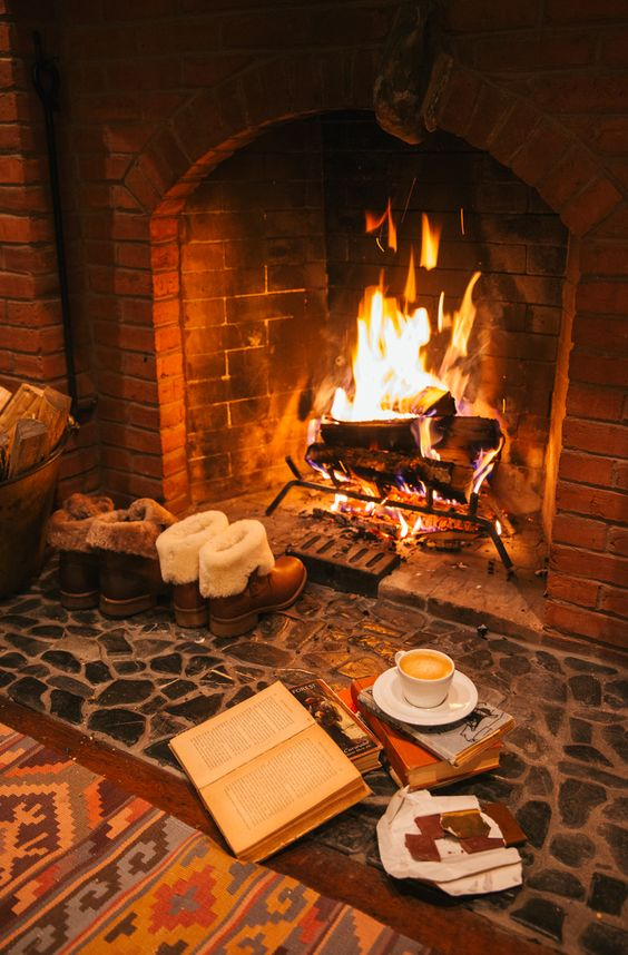 Those cold winter nights call for an evening by the fire...