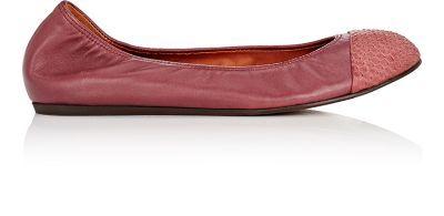 LANVIN Cap-Toe Flats. #lanvin #shoes #flats