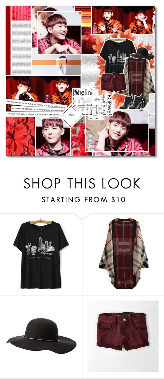 """""""HOTSHOT - Yoonsan"""" by kairimikio ❤ liked on Polyvore featuring Oris, Disney, Craftsman, Charlotte Russe, American Eagle Outfitters and SWEET MANGO"""