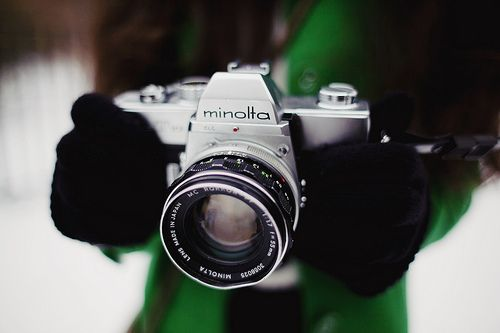 My first great camera was a Minolta XD11. Since those days I'll always have a soft spot for these now vintage 70's – early 80's Minolta analog film SLR's.