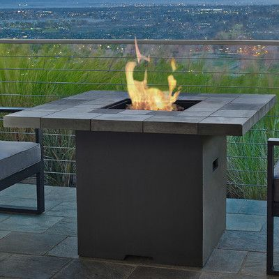 Real Flame Salida Propane Fire Pit Table