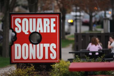 Terre Haute, IN-home of Square Donuts and where I spent my first 12 years of life on South 18th Street. Also hometown of my boys 'Sidewalk Prophets'