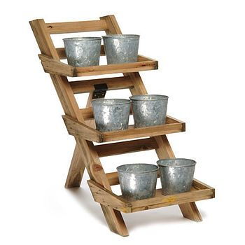 Herb Pots Plant Stands And Herbs On Pinterest