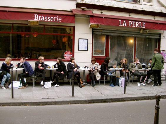 La Perle, Brasserie, Paris