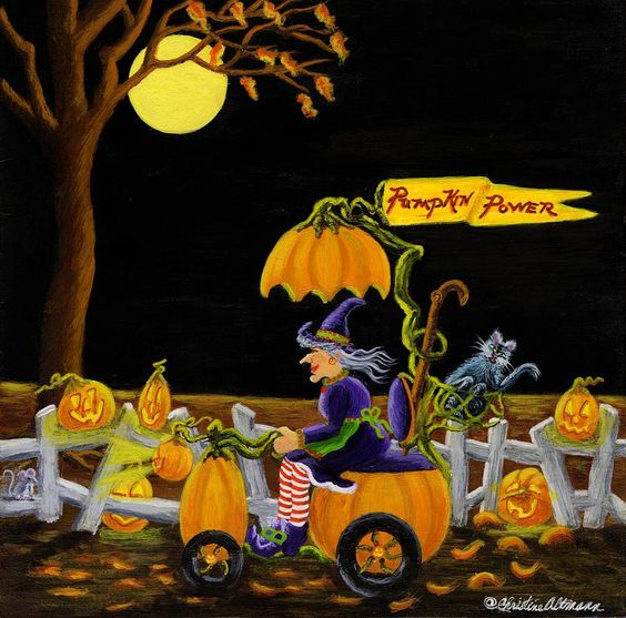 Christine Altmann —  Pumpkin Power (900x890):
