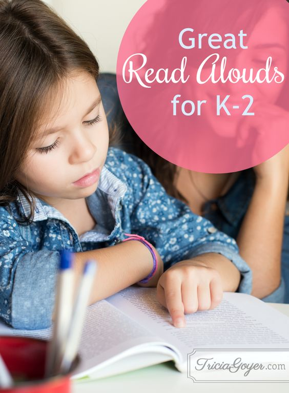 56 Great read-alouds for k-2
