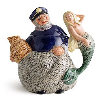Royal Doulton Old Salt Teapot