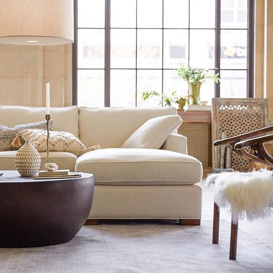 Dune does it all.✨Its sustainably sourced frames, eco-friendly foam, and North Carolina quality make it easy to feel good about your furniture. . This weekend only—Save up to 40% + an extra 5% on Upholstery!