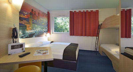 Familienzimmer im B&B Hotel Passau