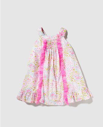 Vestido de niña Freestyle con estampado floral