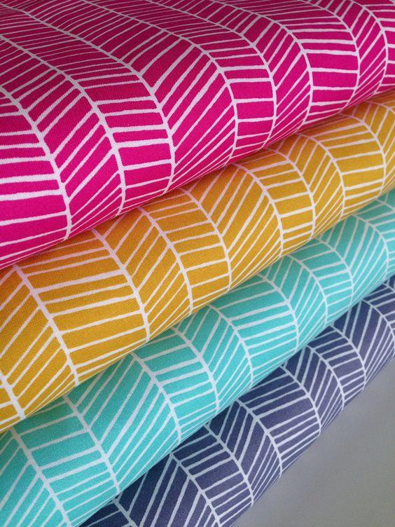 A personal favorite from my Etsy shop https://www.etsy.com/listing/255475019/boho-fabric-herringbone-fabric-arrow