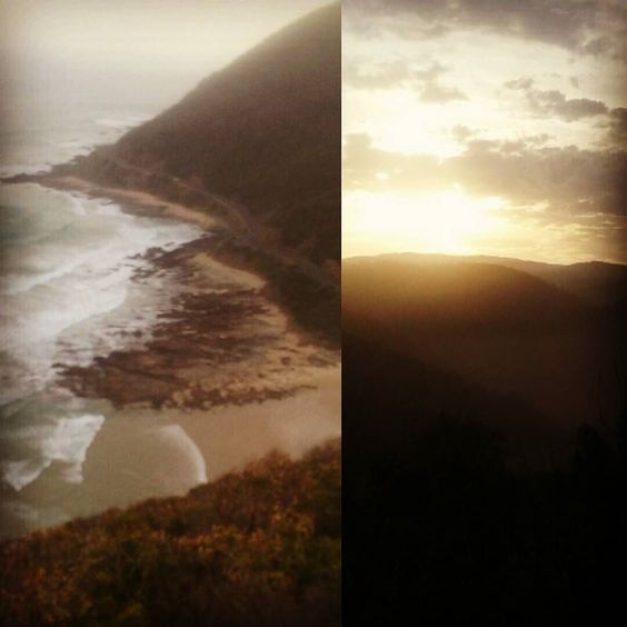 Yesterday's adventures at Teddy's lookout #Lorne #Victoria by kristalgaylebaker http://ift.tt/1IIGiLS