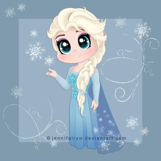 Chibi Elsa by Jennifairyw.deviantart.com on @DeviantArt ...
