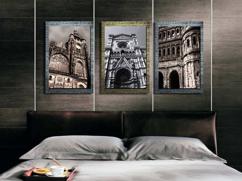 Espritte Art-Huge European Architecture Picture Painting on Canvas Print without Framed, Modern Home Decorations Wall Art set of 3 Each is 40*60cm #cy-525 Contemporary Art http://www.amazon.com/dp/B00LO0CWEW/ref=cm_sw_r_pi_dp_mCFTub0P8J9H7