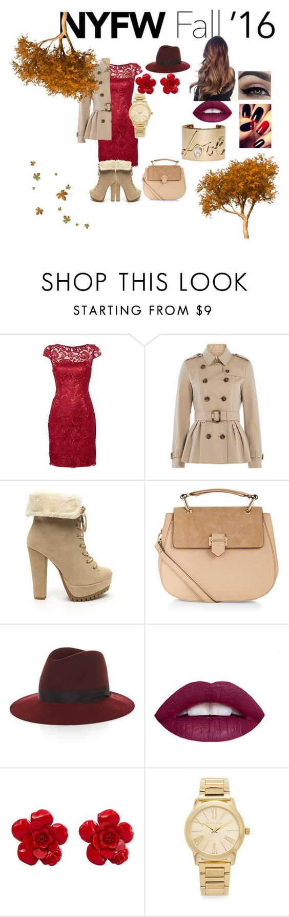 """""""Untitled #39"""" by shycandypie ❤ liked on Polyvore featuring Adrianna Papell, Burberry, Accessorize, rag & bone, Chanel, Michael Kors, Lanvin, women's clothing, women and female"""