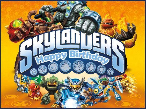 Need Help For A Skylanders Birthday