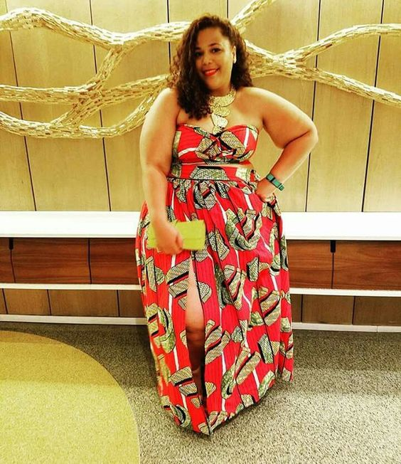 Wow Chastity Garner du blog Garner Style est magnifique dans cette robe en wax Et vous portez-vous du wax ?: