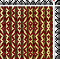 M and W weaving drafts - Google Search