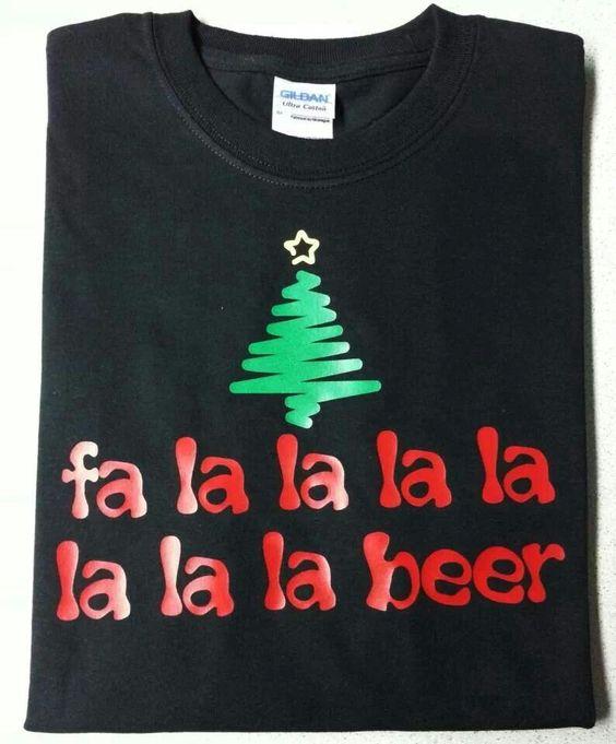 Fa la la la la la la la beer