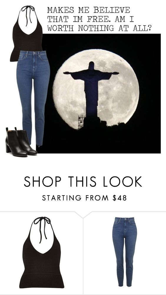"""""""This Side Of The Moon- Gabrielle Aplin"""" by kimabalee ❤ liked on Polyvore featuring River Island and Stephane Kélian"""