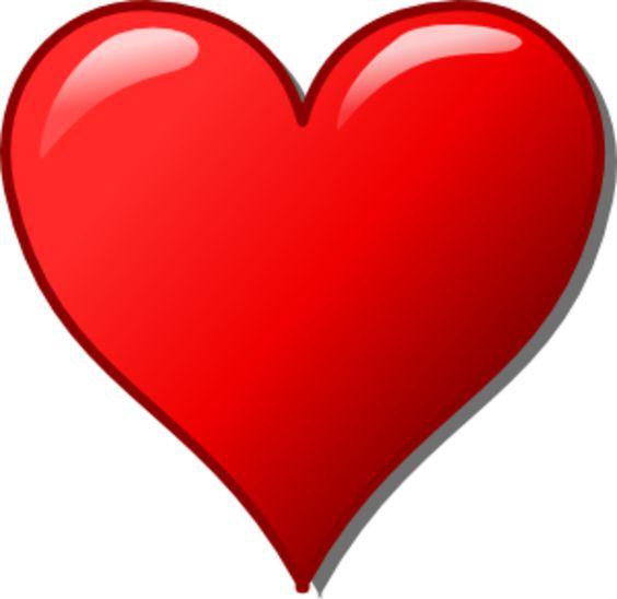 Free Heart Clip Art | Heart Clipart image - vector clip art online, royalty free & public ...