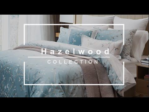 Hazelwood Bedding Collection By Qe Home Quilts Etc Youtube Luxury Sheet Sets Luxury Sheets Bedding Collections
