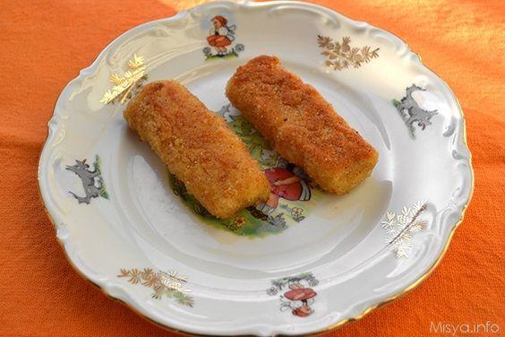Bastoncini di pesce, scopri la ricetta: http://www.misya.info/2013/06/26/bastoncini-di-pesce.htm