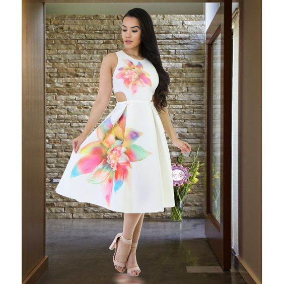 The Lisa Frank Dress - Luxe Aloure