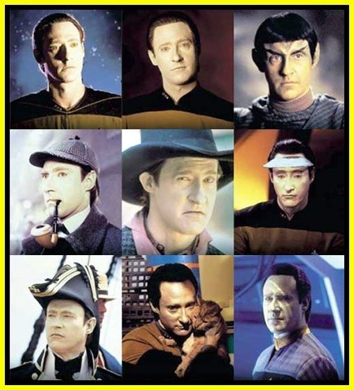 Data from Star Trek: The Next Generation. He's wearing a lot of different hats these days :P
