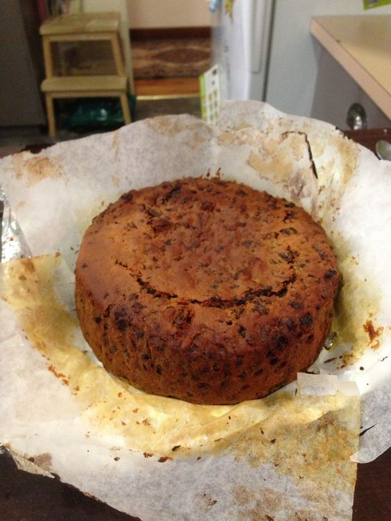 The simplest, densest, richest fruitcake ever!
