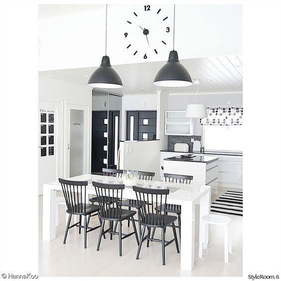 keittiö,mustavalkoinen,mustavalkoinen sisustus,mustavalkoinen keittiö,minun keittiöni