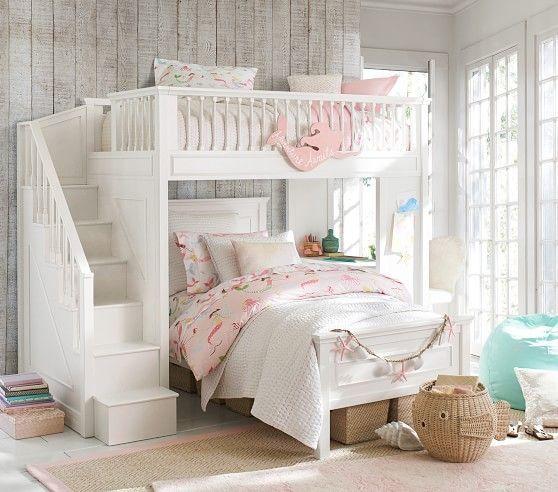 Fillmore Stair Loft Bed Pbkids Creative Kids Room