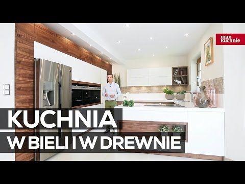 Kuchnia W Bieli I W Drewnie Studio Max Kuchnie Vigo Chrzanow Youtube Home Decor Decals Decor Home Decor