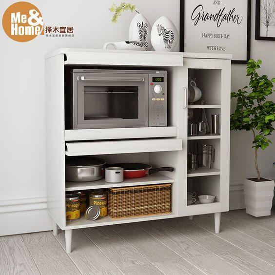 M s verde habitable minimalista moderno aparador alacena for Gabinetes de cocina modernos